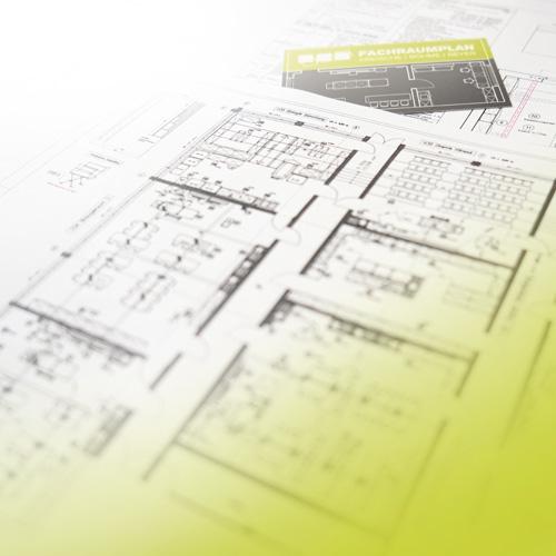 Raumplanung neuer Unterrichtsräume eines Gymnasiums